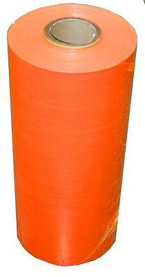40 Rolls Machine Pallet Wrap Stretch Film 20 X 5000 80 Gauge Orange Color
