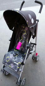 Mothercare Nanu Pushchair - Lightweight, Easyfold, Umbrella Style