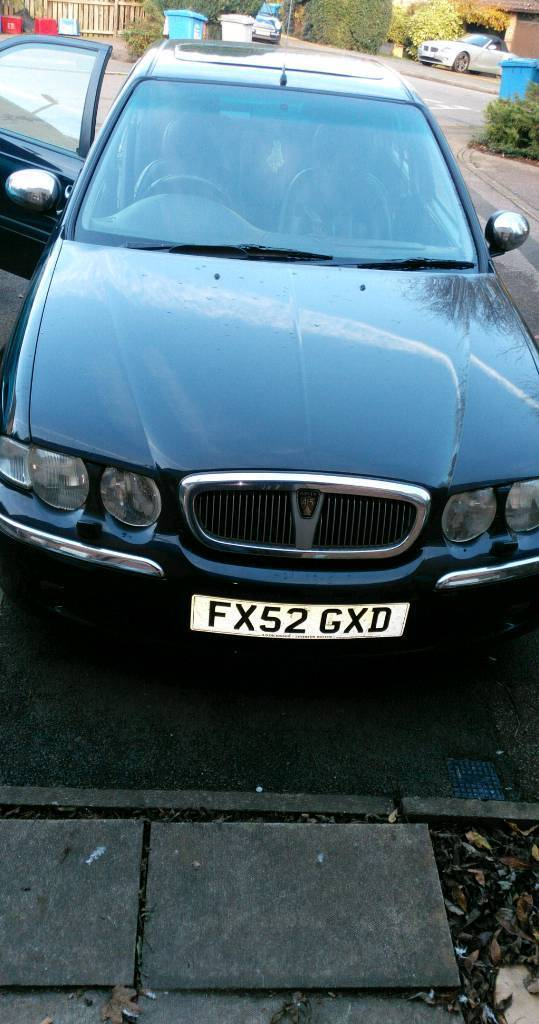 Rover 45 connoisseur 2l turbo diesel