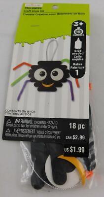 Creatology Halloween Craft Stick Spider Kit New 18 Pc Makes - Creatology Halloween Kids Craft