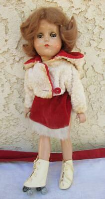 "Vintage 14"" R&B Arranbee Girl Nancy Lee Composition Doll Debuteen"