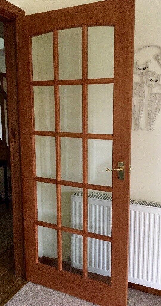 2 X 15 Pane Glass Panel Doors In Inverkeithing Fife Gumtree