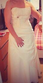 REDUCED... Alexia Designs Ivory wedding dress Style IB04 - Size 14 - NEVER WORN