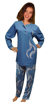 Damen-Pyjama Schlafanzug (DF851) Gr. 46-48