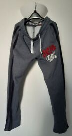 Vintage Superdry Sevens Joker Joggers Activewear Sports Trouser Man Small
