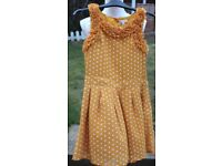 Marks and Spencers Autograph Polka Dot dress UK 12 yrs