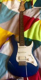 Yamaha pafica electric guitar