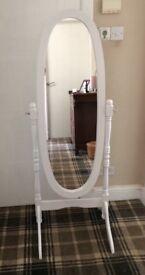 Free Standing Cheval Swivel Mirror