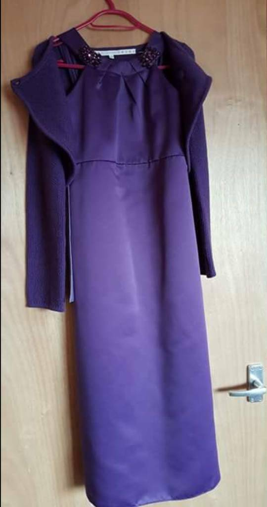 Bridesmaid dress, Cardi & bag | in Cramlington, Northumberland | Gumtree
