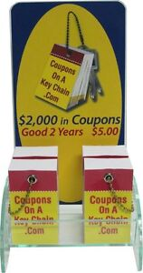 Coupons on a Key Chain London Business for sale London Ontario image 2