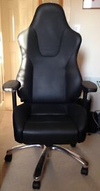 Recaro sports leather office chair