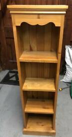 Mexican pine book case