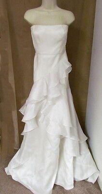 J Crew Cascade Ball Gown Wedding Dress size 4 Ivory Madison 769 $2500 NEW