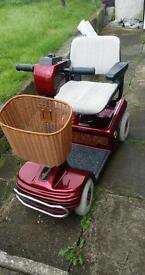 Shoprider mobility scooter with 2 spare brand new batteries for peace of mind £400