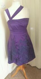 ladies designer dress from karen millen size 12