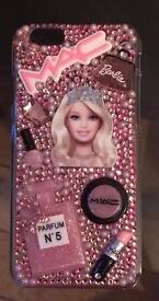 Handmade Barbie themed iPhone 6 6s case