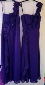 2 x Debut Bridesmaid Dresses