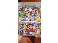 Mario party 4 gamecube game