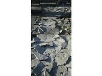 broken up concrete