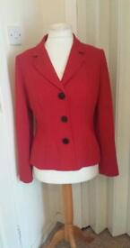 marks/spencer jacket in red size 12