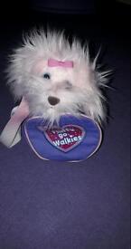 Fluffy goes walkies