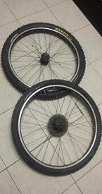 Mavic 117 wheelset