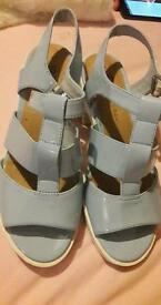 New Look Light Blue Generation Sandler Size 5 Hardly Worn