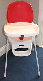 Babystart High Chair with tray but no straps