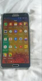 Samsung galaxy note 3 used very good condition no scratches boxed with accessories