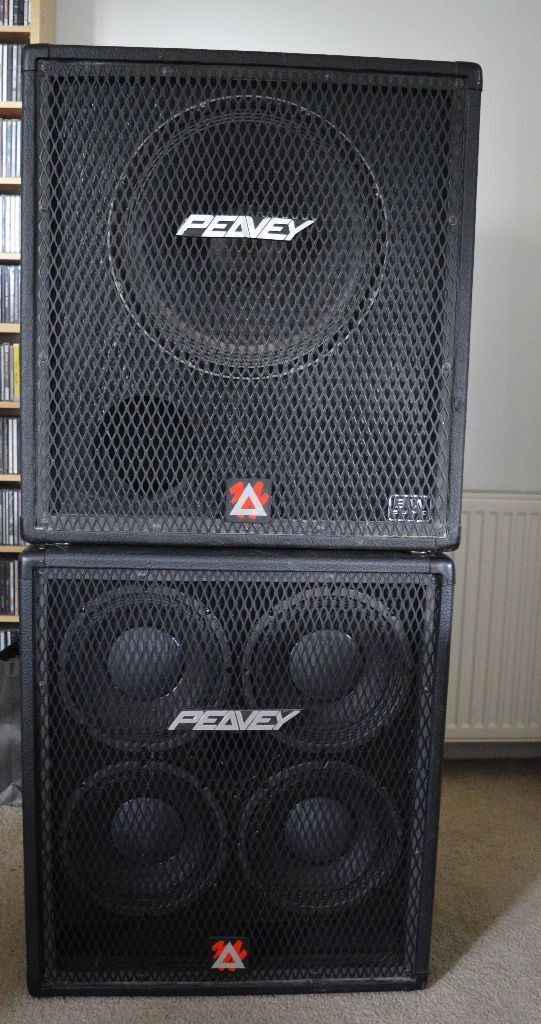 Peavey 410 TVX and 115BX bass cabs (4x10 and 1x15) | in Renfrew ...
