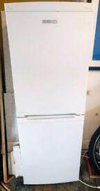 Beko freestanding fridge freezer