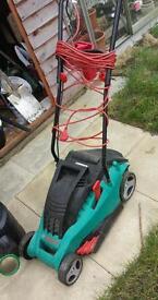 Bosch rotak 30 40 lawn mower lawnmower electric not petrol garden equipment