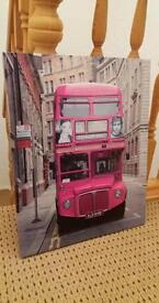 Print of London Bus