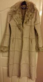 Valesi size 10 full length ladies coat