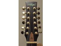 Gordon Giltrap 12 String Electro Acoustic Guitar (Vintage Brand)
