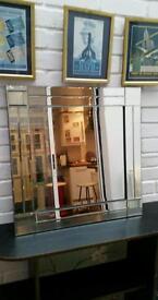 Vintage retro 1930s style mirror