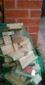BAGS OF WOOD FOR WOOD BURNERS