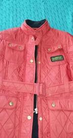 Lovely children's barbour jacket size xxx l