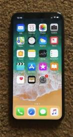 Apple iPhone X | 256gb | Black | Any Network | Unlocked | 1 year Warranty