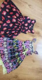 Girls 6-7 yr pretty dresses.marks and spencers