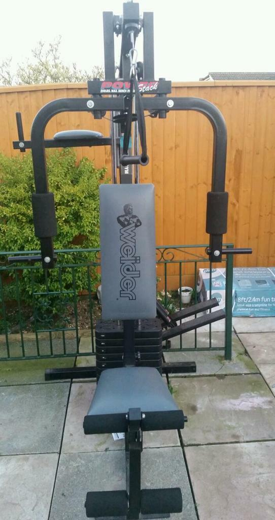 Weider Power Stack Multi Gym in Exeter Devon Gumtree : 86 from www.gumtree.com size 542 x 1024 jpeg 75kB