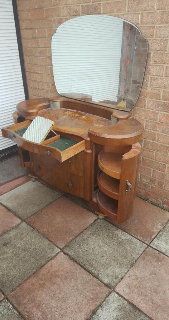Shrager art deco dressing table restoration prodject in middlesbrough north yorkshire gumtree - Deco dressing ...