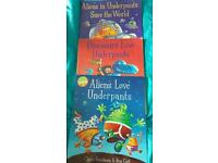 Set of 3 underpants Childrens books