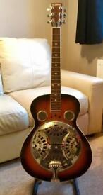 Rare resonator acoustic guitar
