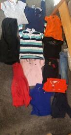 Toddler boys clothes.