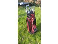 Mixed set of Golf Clubs with Bag and balls