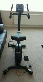 Roger black Exercise bike in ex condition
