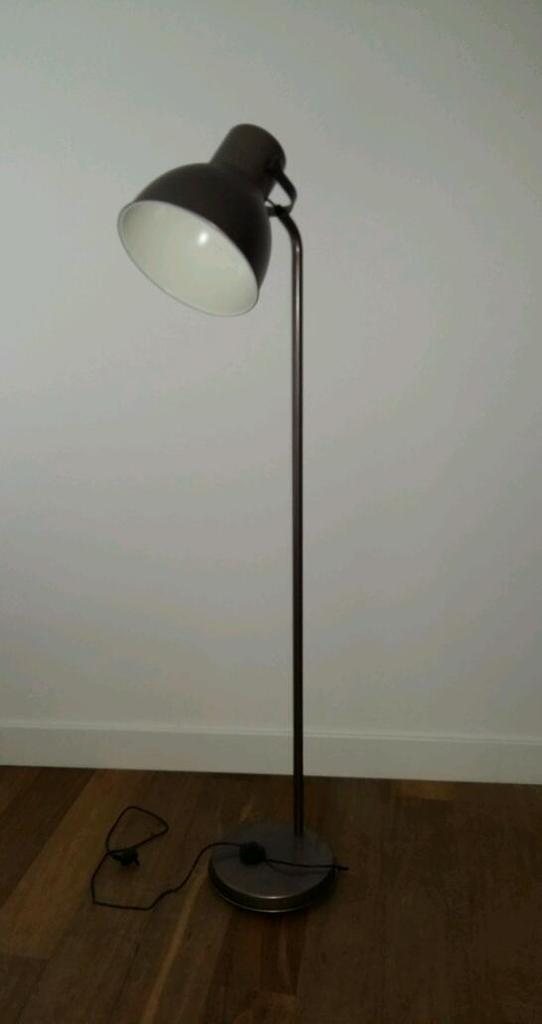 ikea hektar bronze floor lamp in greenwich london gumtree. Black Bedroom Furniture Sets. Home Design Ideas