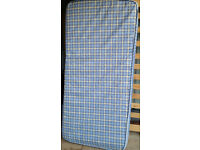 single size spring mattress. 90cm x 190cm. In good clean condition.