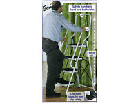 Genius 4-step safety step ladder (New)